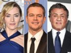 PHOTO: Actress Kate Winslet and actor Matt Damon at the 73rd Annual Golden Globe Awards held at The Beverly Hilton Hotel on Jan. 10, 2016 in Beverly Hills, Calif. | Actor Sylvester Stallone attends the European Premiere on Jan. 12, 2016 in London.