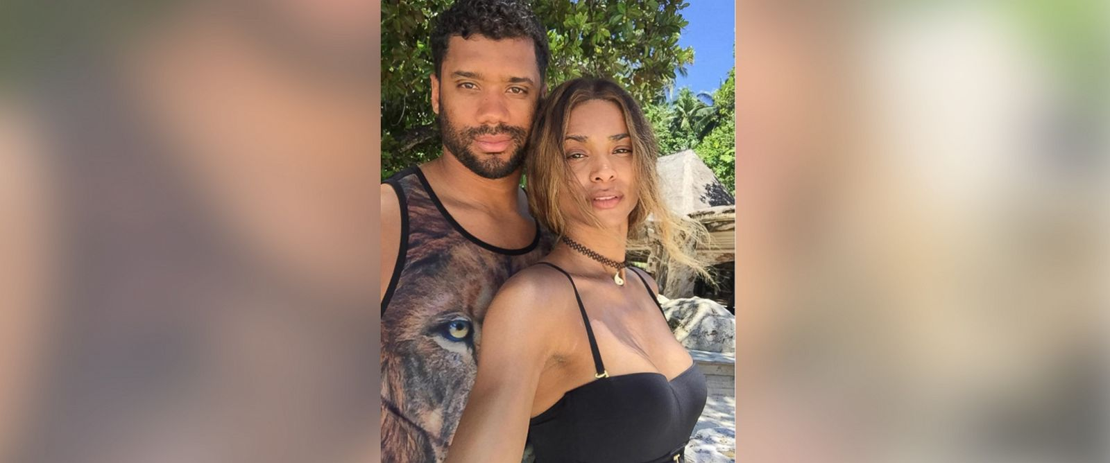 PHOTO: Ciara posted this photo of herself and Russell Wilson to her Instagram account on March 13, 2016