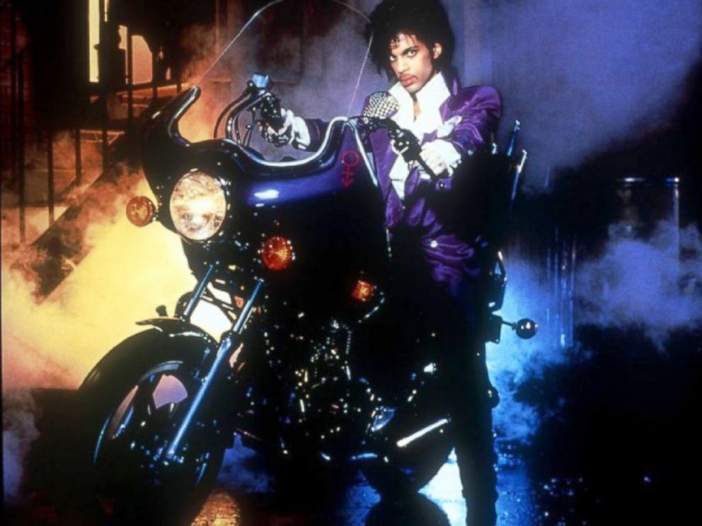PHOTO: Prince in Purple Rain.