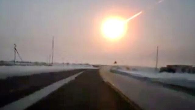 Chelyabinsk impact // asha gazeta/www.ng.kz/AP via ABC News
