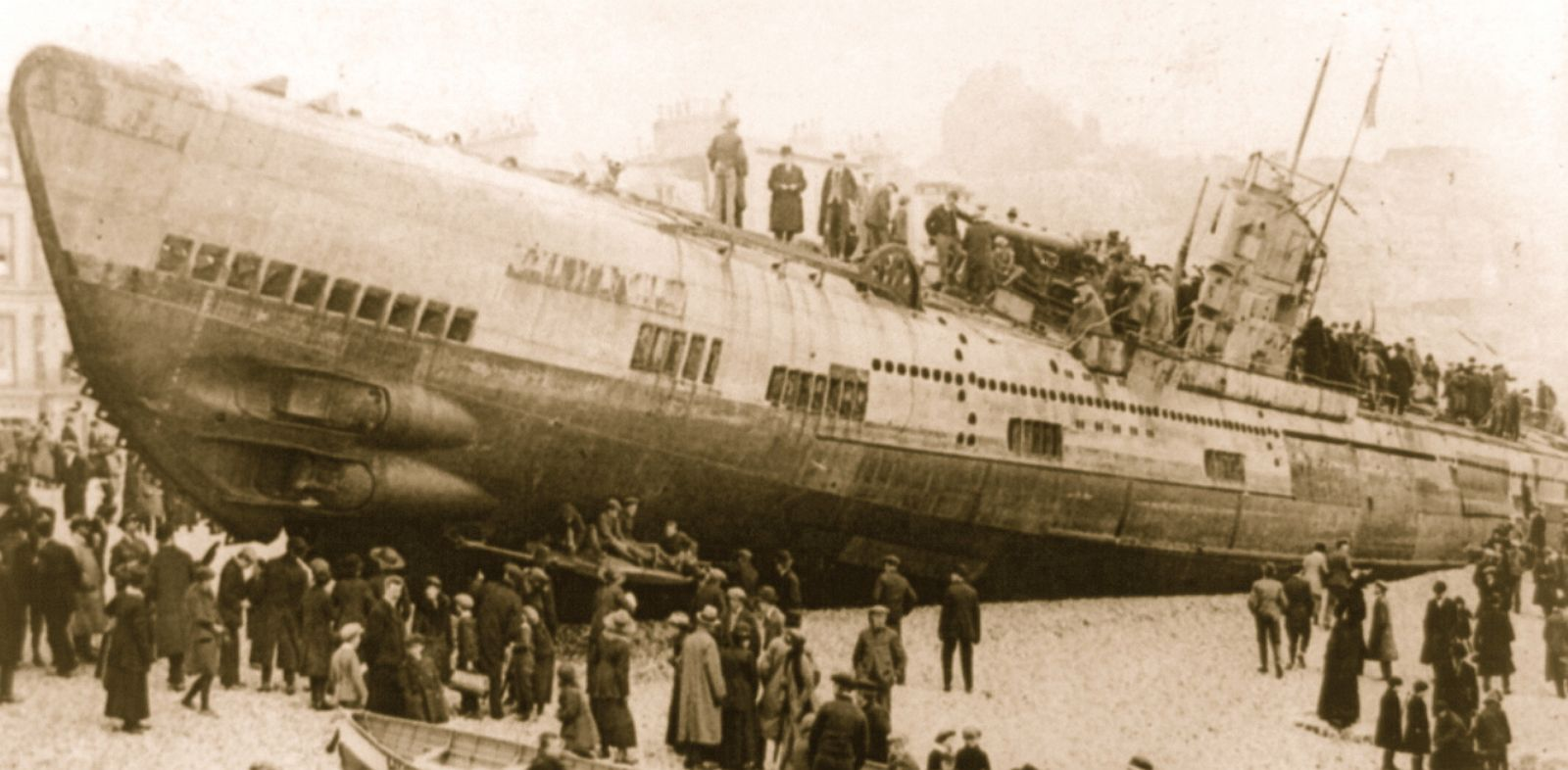 German Subs Sunken Wwi U Boats A Bonanza For Historians