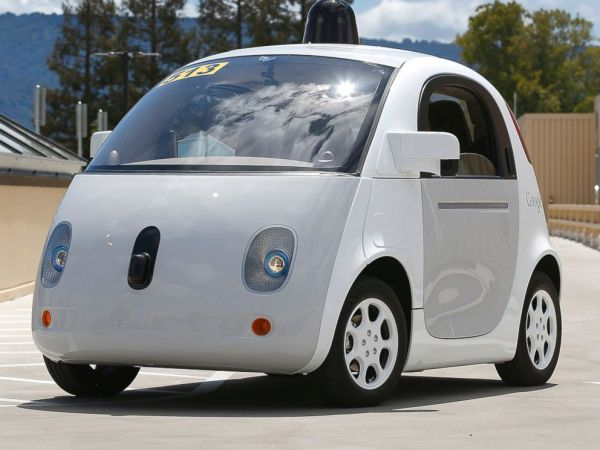 Google39s Newest SelfDriving Car Prototype A Look Inside