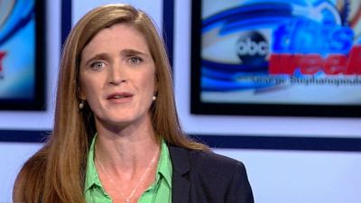 Samantha Power: Obama Believes Skipping Putin Meeting ...