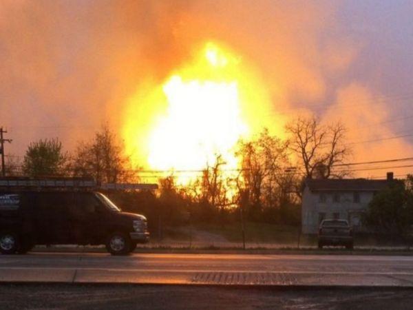Natural Gas Explosion Creates Massive Fireball ABC News