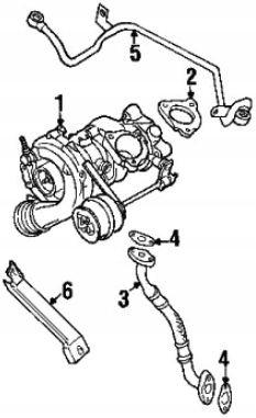USZCZELKA PRZEWODU TURBO MISKA VW PASSAT B5 1.8T
