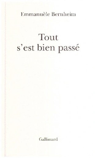 Tout S Est Bien Passe : passe, S'est, Passe, Emmanuele, Bernheim, Francais, Allegro.pl, Darmowa, Dostawa, Smart!, Kościan, Stan:, Oferty:, 8080689739