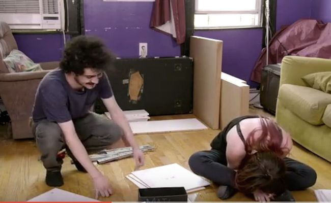 Watch People Put Together Ikea Furniture While High On