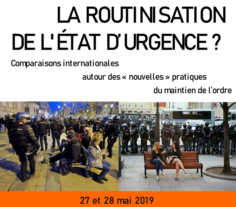 Colloque international à Paris - La routinisation de l'État d'urgence ?