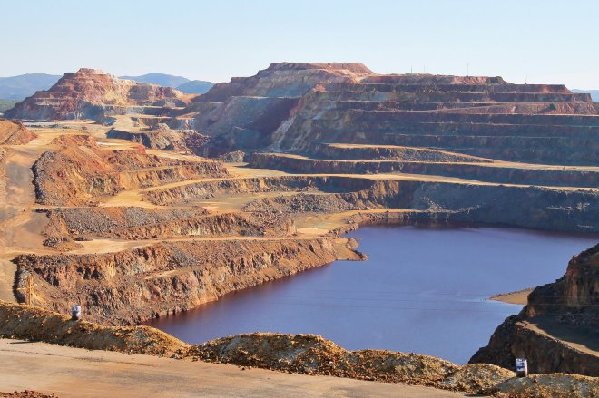 Rio Tinto Mines, Unusual Spain