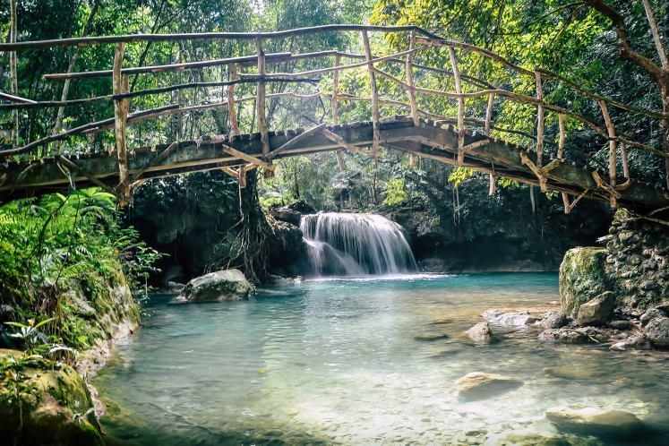 Explore waterfalls