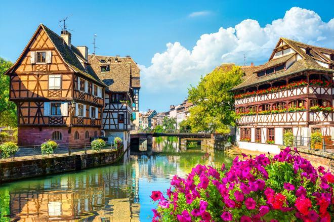 La Petite France, the little france, Strasbourg
