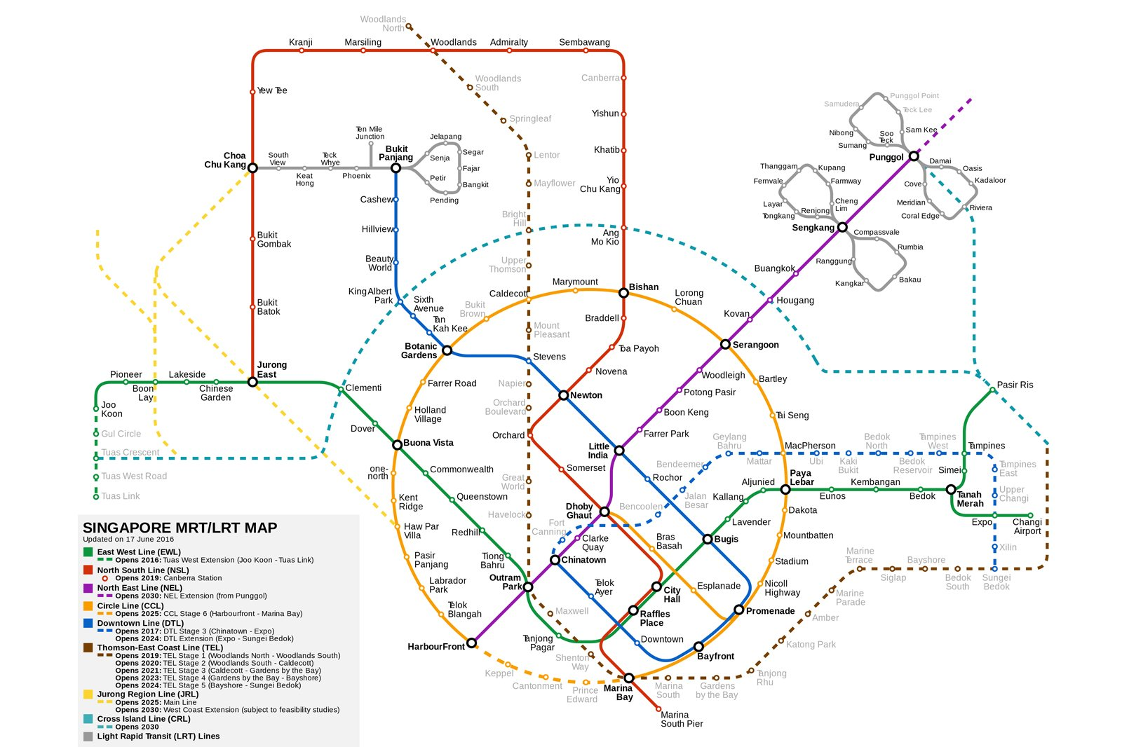 Singapore Mrt Guide Station By Station Guide Mrt Singapore
