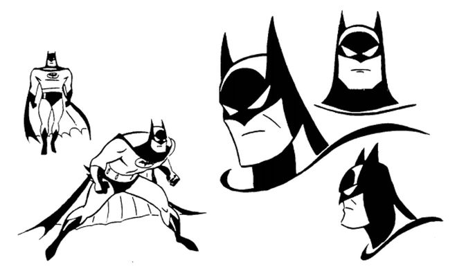 Batman: The Animated Series (1992) — Art of the Title