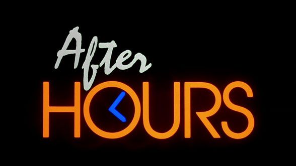 After Hours (1985) — Art Of The Title