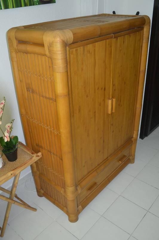 armoire bambou meubles et decoration