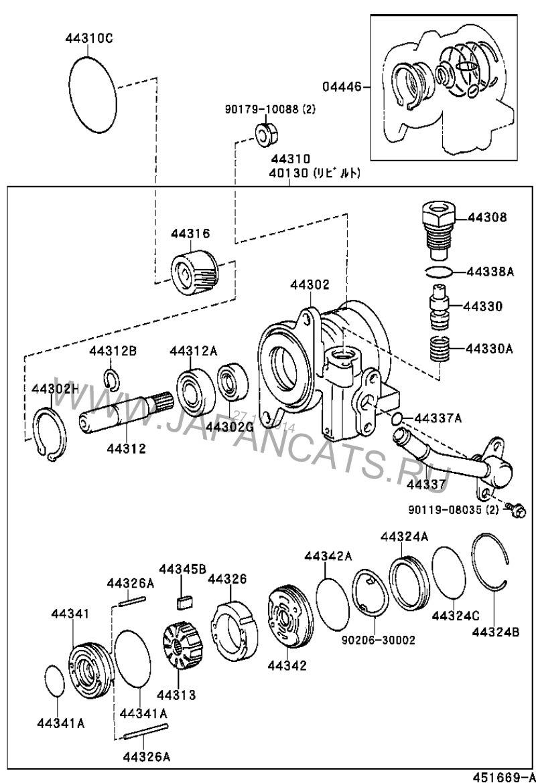 13. Ремонт ГУРа — бортжурнал Toyota Land Cruiser Prado 1KZ