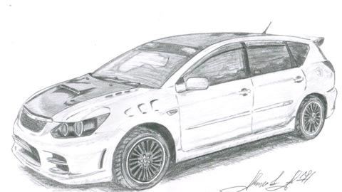 Toyota Caldina (241). Топ машин на DRIVE2