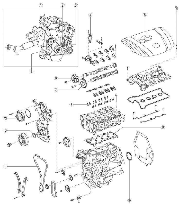 Mazda 6 Werkstatthandbuch