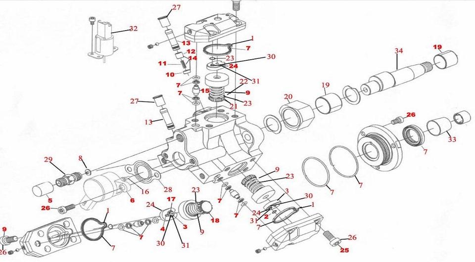 repair of injection pump bosh 0 445 010 010 — logbook
