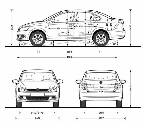 VW Polo седан против Skoda Rapid — сравниваем двух прямых