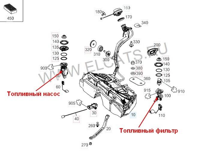 Про топливный фильтр на w204 и w212 — бортжурнал Mercedes