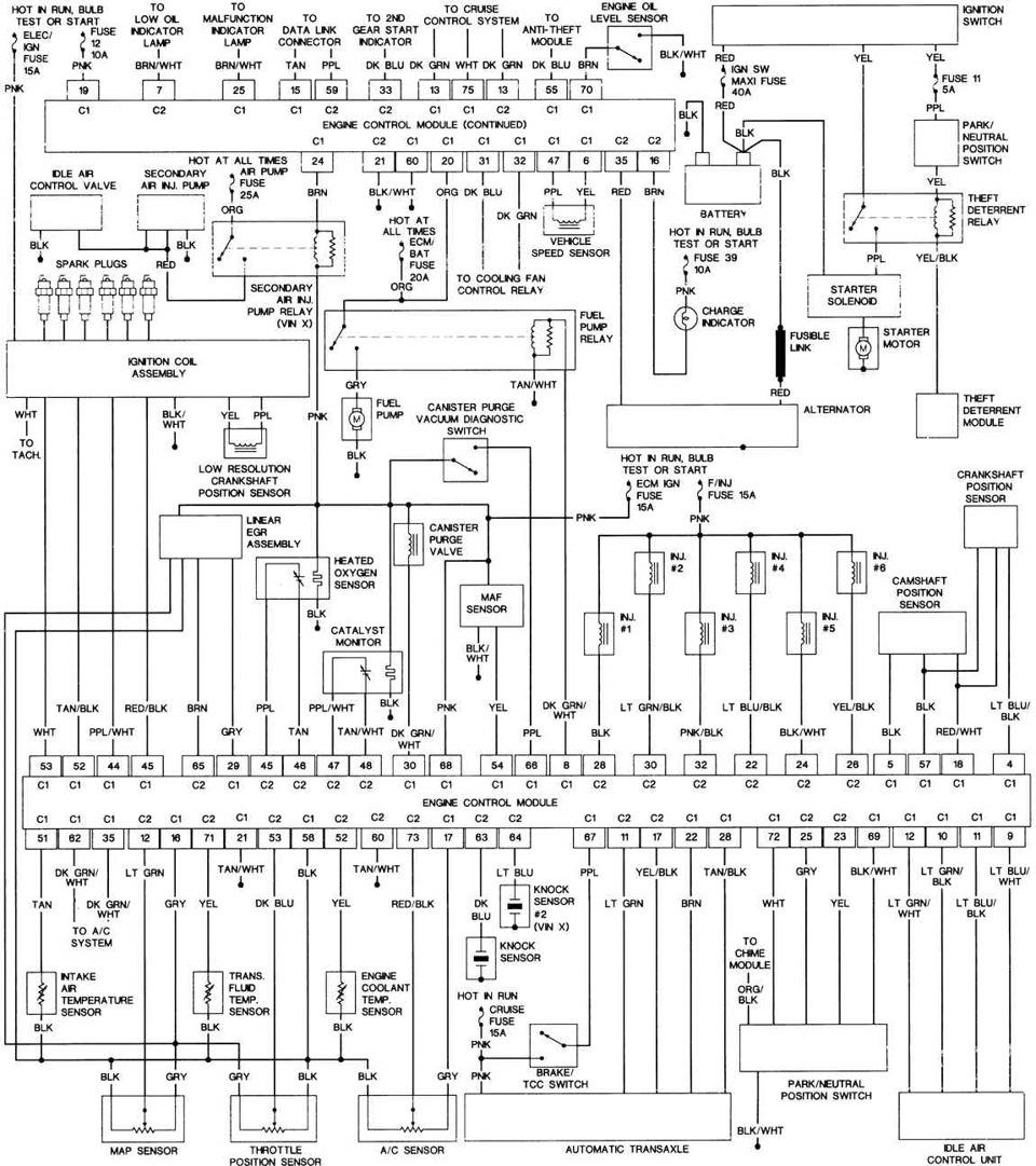 Sample diagram в основном на LQ1 3.4. — бортжурнал Pontiac