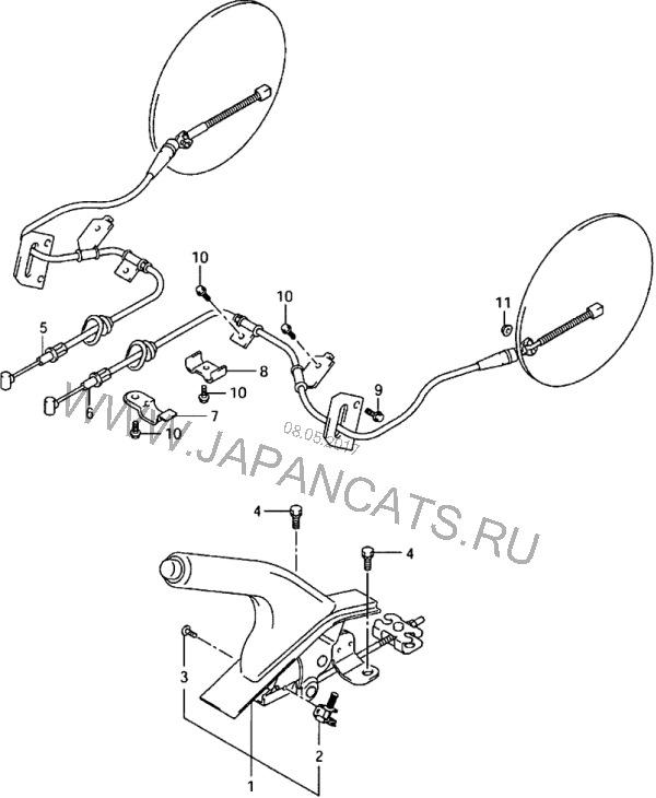 Ревизия задних тормозных барабанов. — Suzuki Vitara XL7, 2