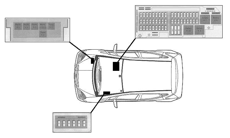 MB W168 выключатель света (Mercedes-Benz 1997-2004) — DRIVE2