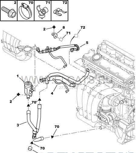 Подогрев картерных газов — бортжурнал Peugeot 607 666 2004