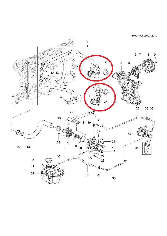 Замена нижнего патрубка радиатора — бортжурнал Chevrolet