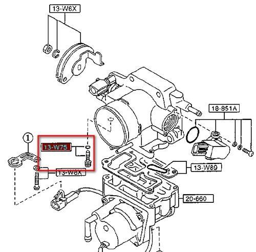 Двигатели FP, FS (Mazda 626, MX-6): диагностика и