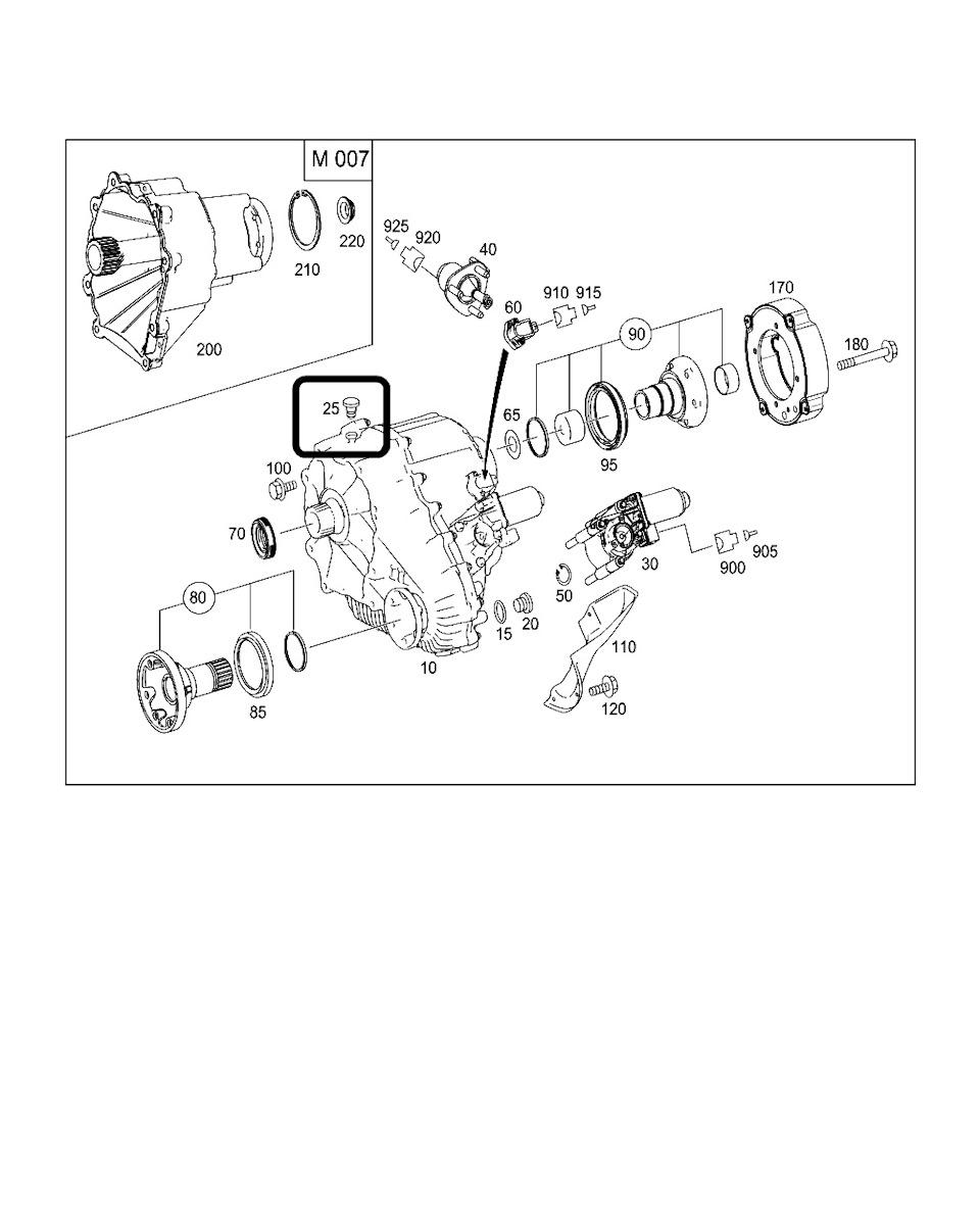 Ремонт раздатки mercedes ml w164 — бортжурнал Mercedes