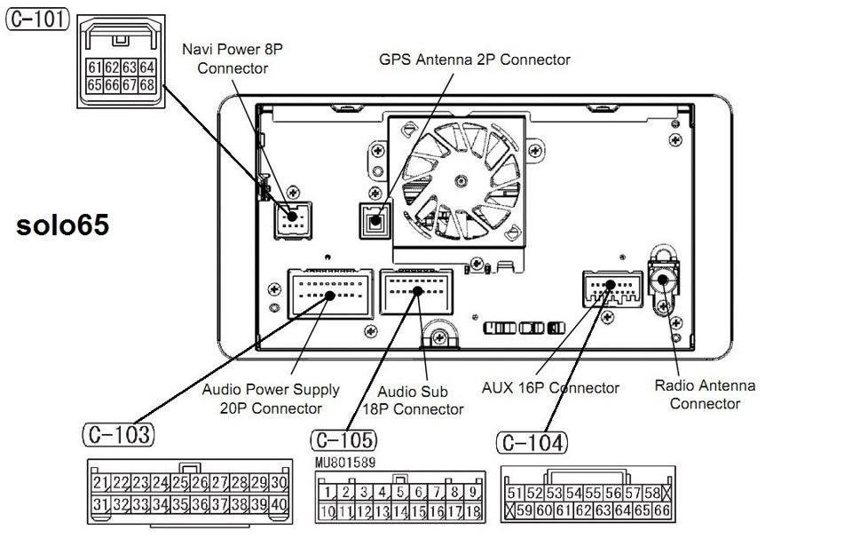 2007 mitsubishi outlander radio wiring diagram