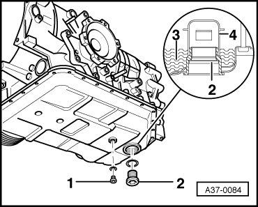 Замена масла в акпп ZF 5hp19 — Audi A4, 2.7 л., 2002 года
