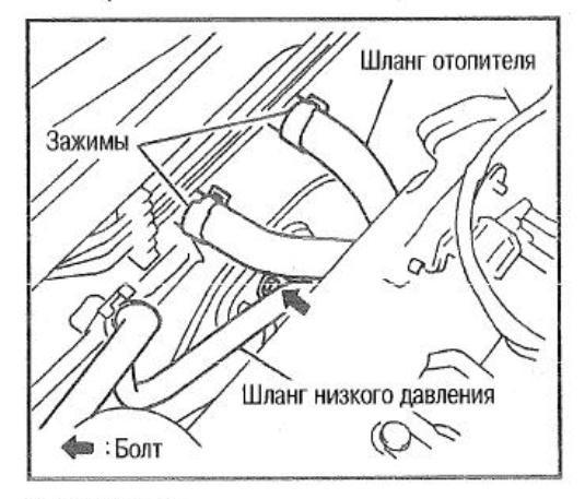 Антифриз + термостат на 88С — Nissan Bluebird Sylphy, 1.8