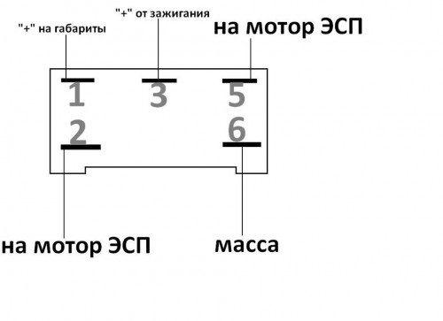 Установка электростеклоподьемников через реле и