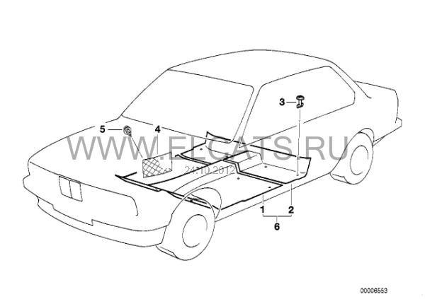 Сетка в ногах пассажира — бортжурнал BMW 5 series