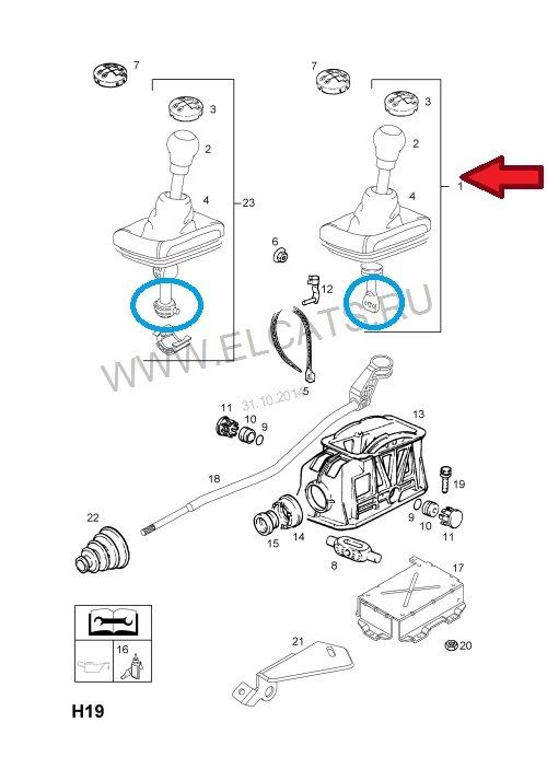 Поставил ручку КПП от Opel Astra G — бортжурнал Chevrolet
