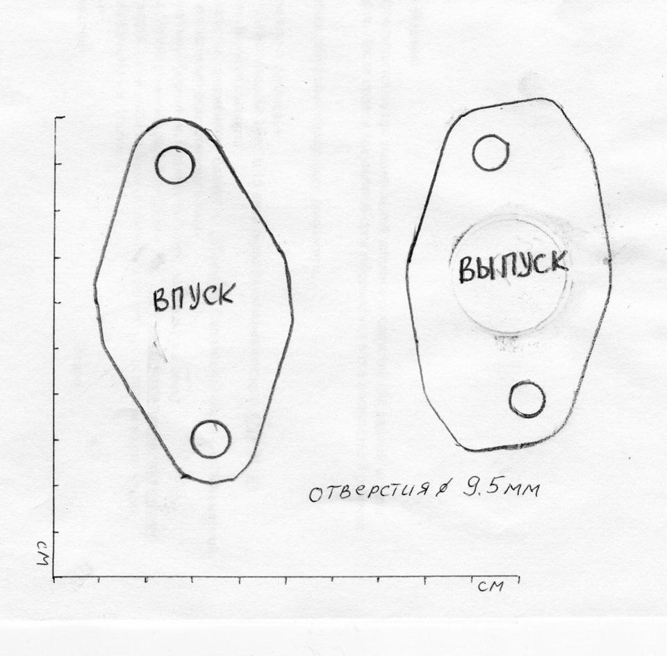 Чистка впускного коллектора и ликвидация EGR на двигателе