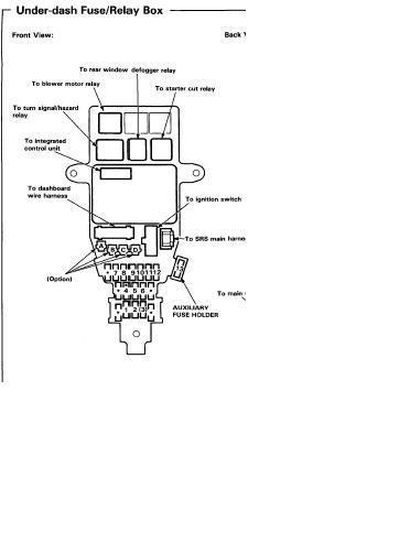 Блок предохранителей — бортжурнал Rover 600 английский