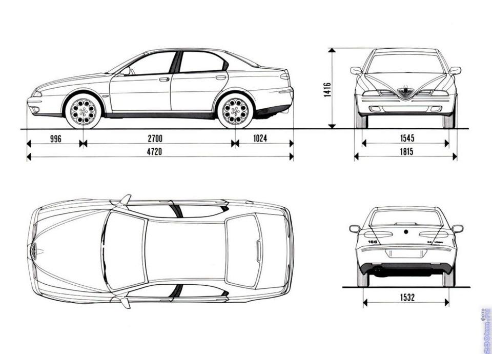 Немного про особенности 166. — Alfa Romeo 166, 2.0 л