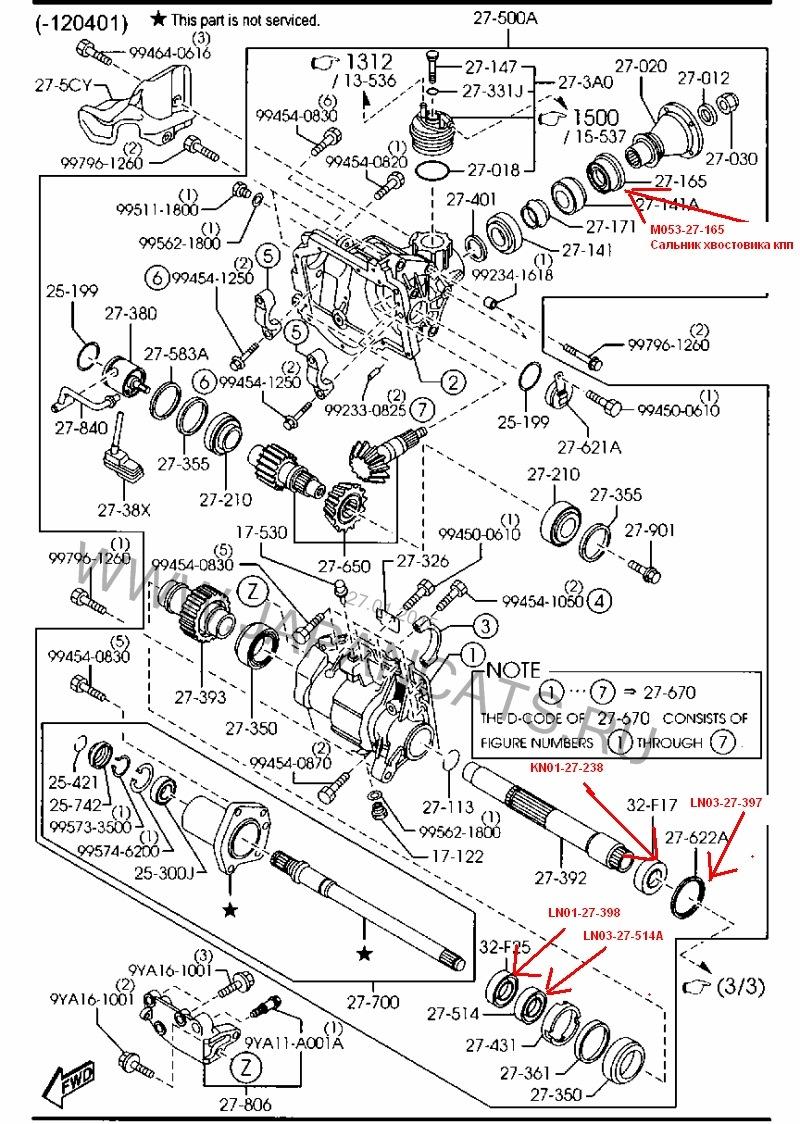 Cальники раздатки mazda cx-7 — DRIVE2