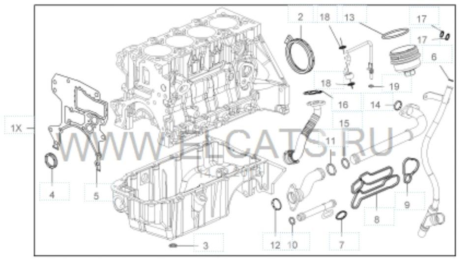 Прокладки теплообменника A16LET. — Сообщество «Opel Astra