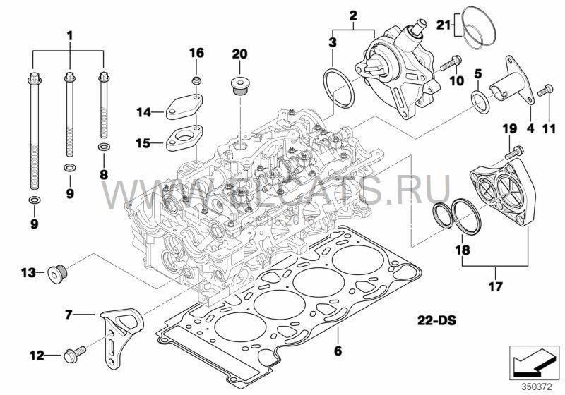 Снятие и ремонт вакумного насоса N46B20 (MANUAL+полезная