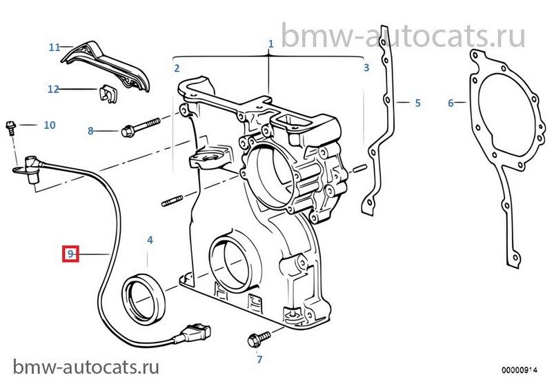 Причина хандры — датчик коленвала — бортжурнал BMW 5