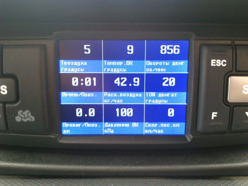 надпись бортового компьютера на фиат альбеа