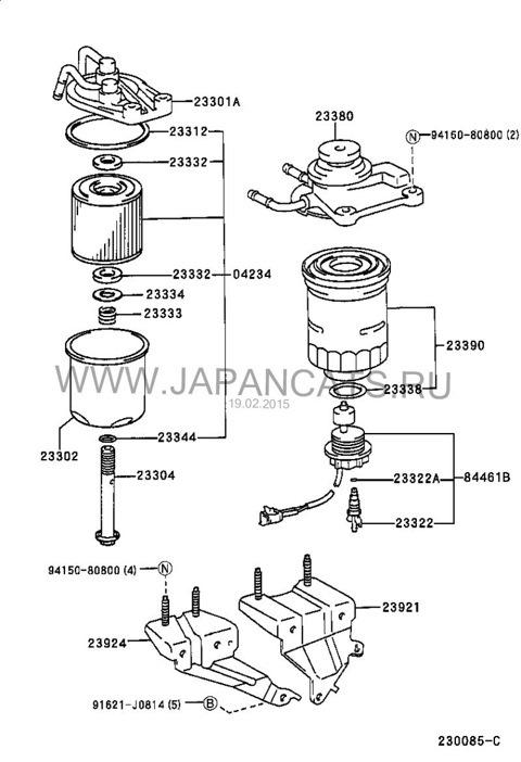 Установка дополнительного топливного фильтра для дизеля