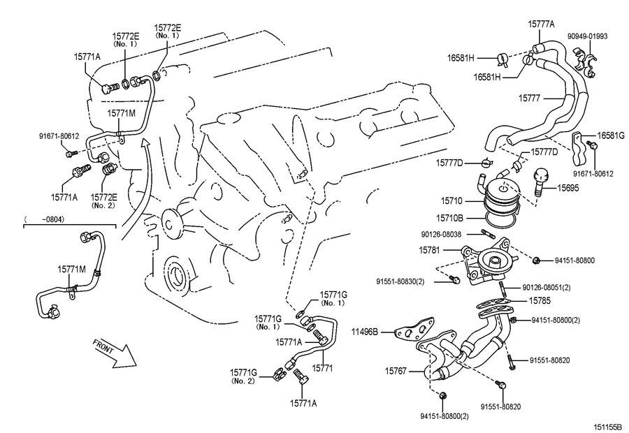 Проблемы масляной линии 2GR-FE — бортжурнал Lexus ES