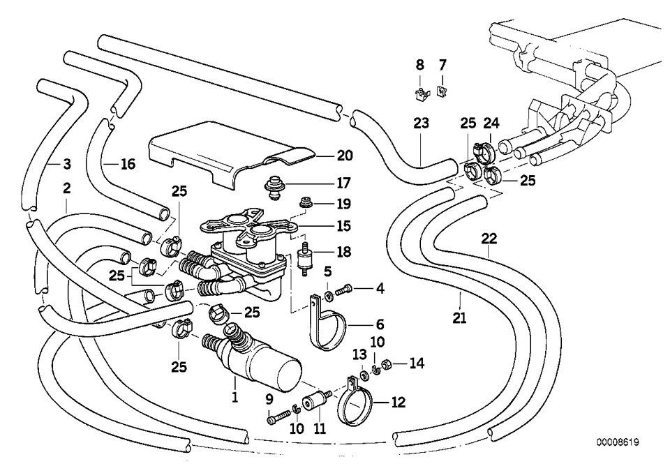 Замена клапанов печки… — бортжурнал BMW 5 series New Life