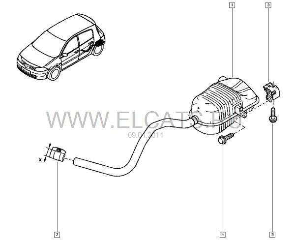 Выхлопная система Renault Megane 2.0 ч.I — бортжурнал